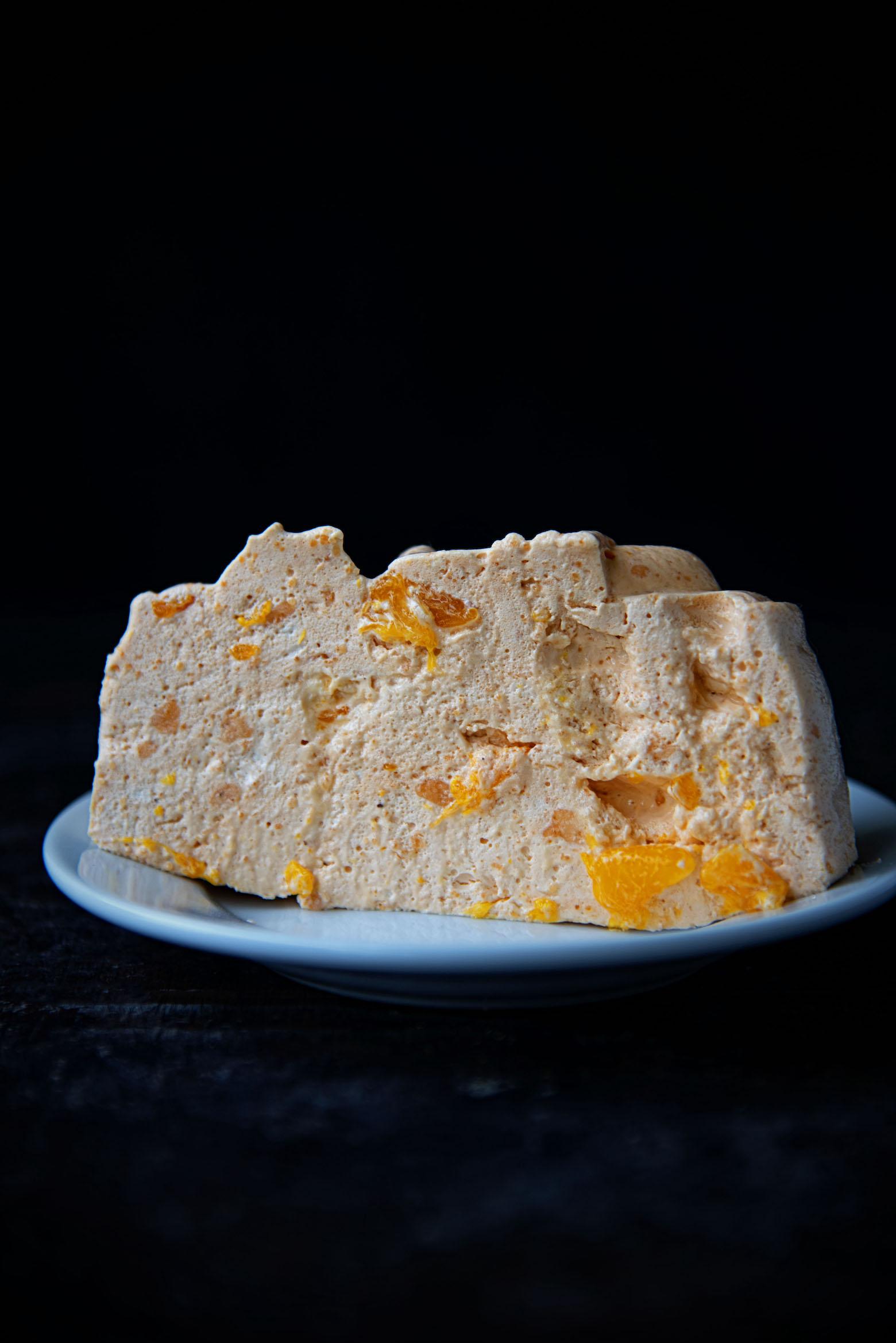 Orange Gingerbread Jell-O Mold
