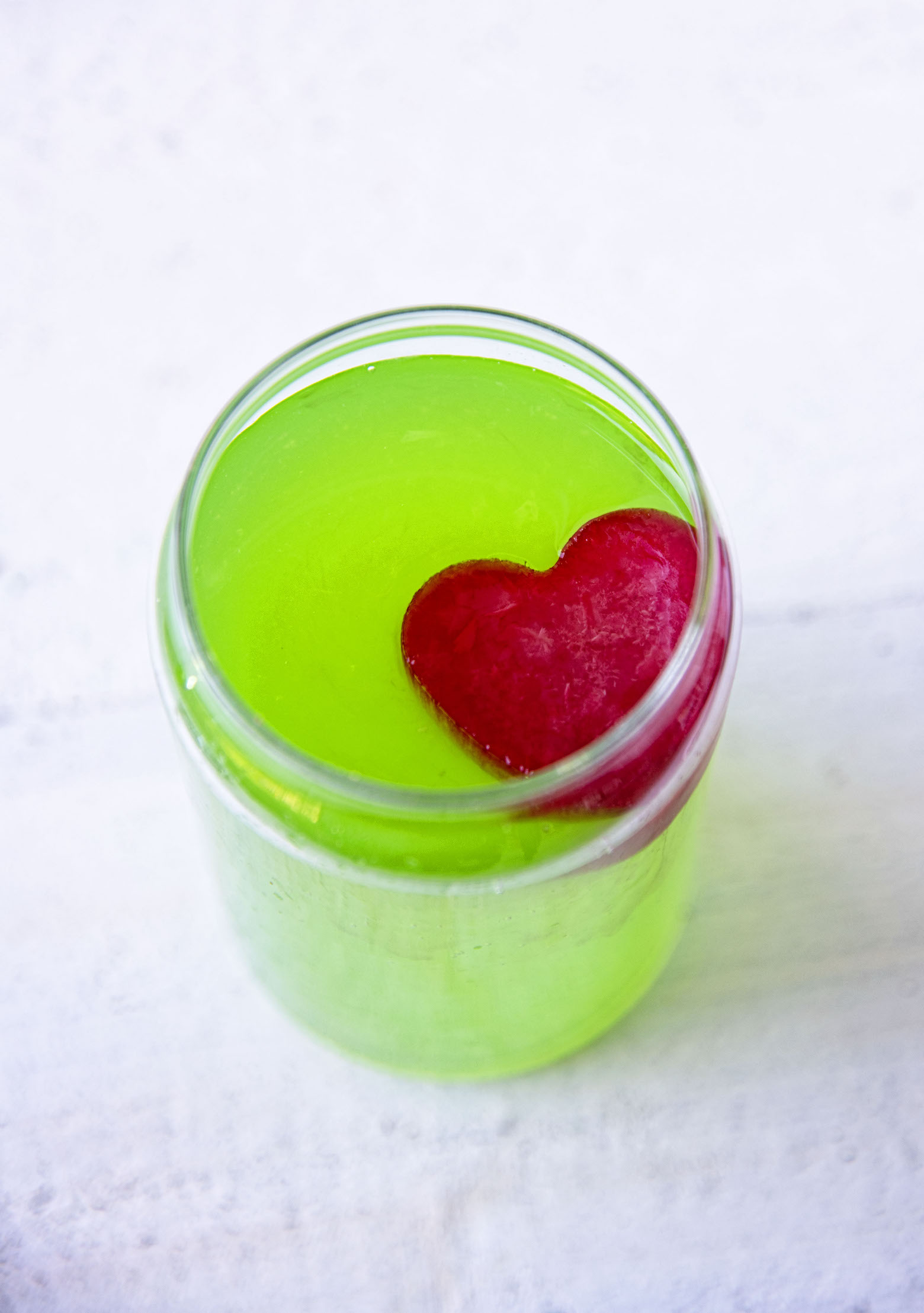 The Grinch Spiked Green Lemonade