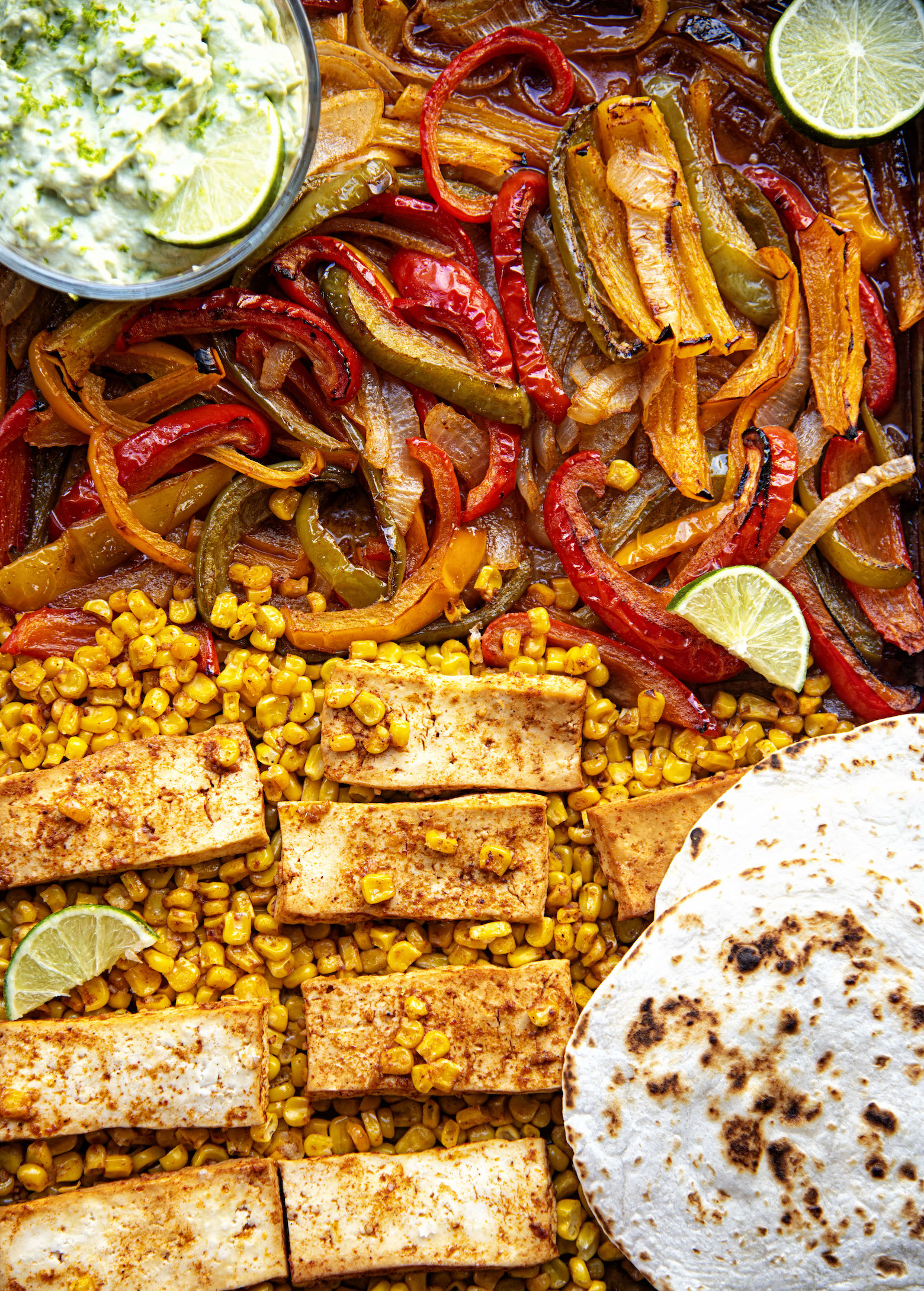 Tofu Sheet Pan Fajitas