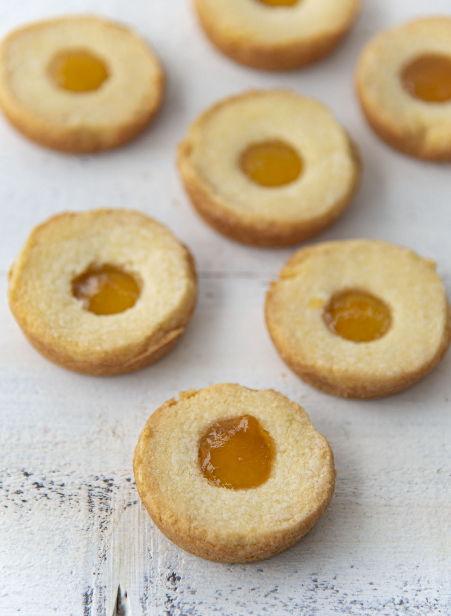 Pineapple Passionfruit Corked Breton Galettes