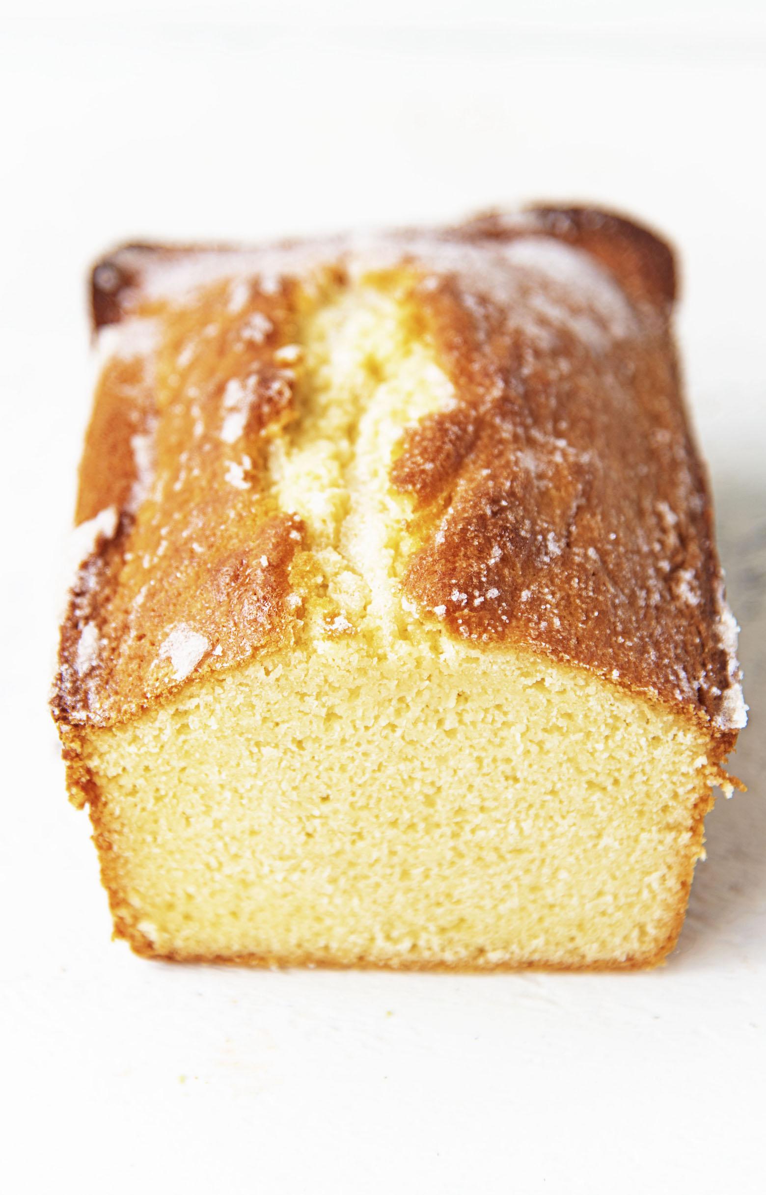 Vanilla Butter Loaf Cake