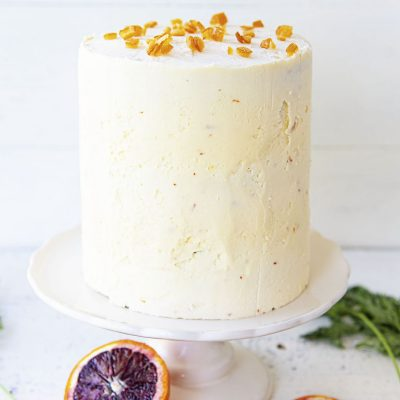 Citrus Sunshine Carrot Cake