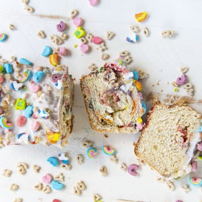 Lucky Charms Cereal Milk Babka