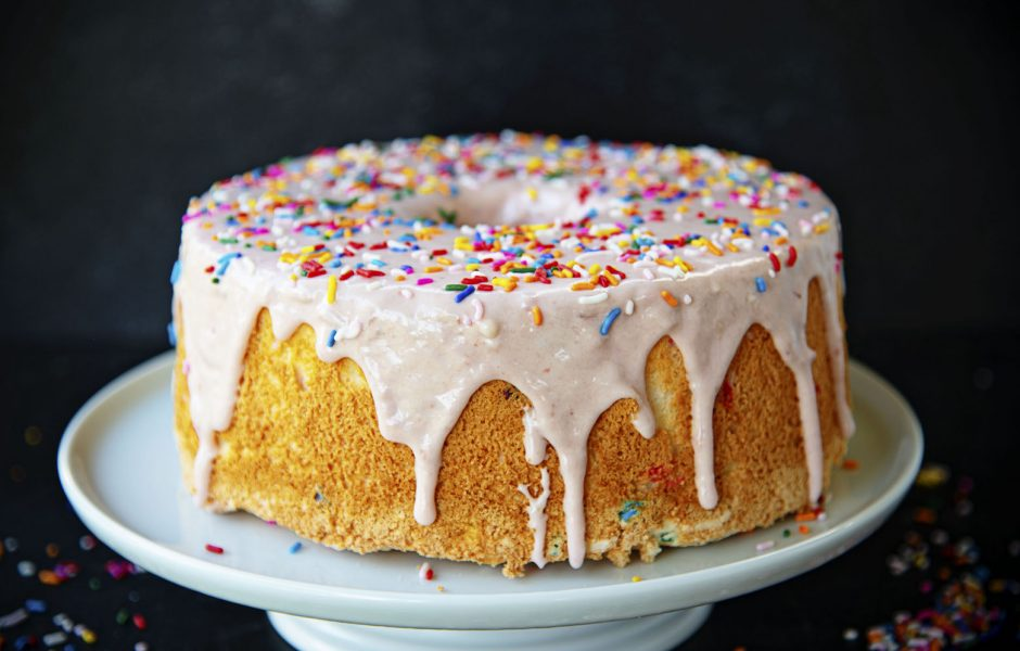 Cake Batter Angel Food Cake