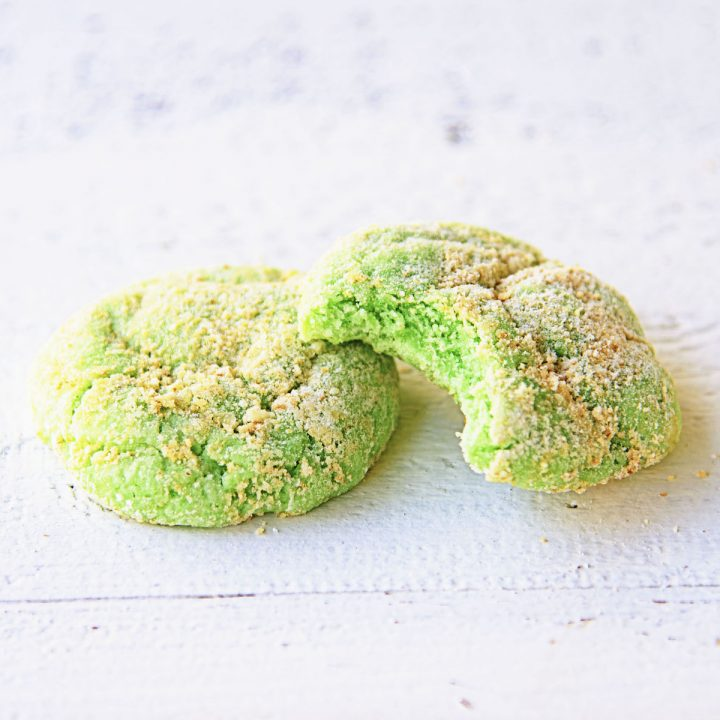 Key Lime Pie Crinkle Cookies