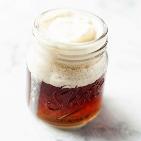 Jack and Coke Ice Cream Float Shots