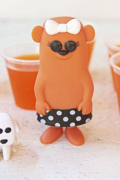 Orange Otter Pop Jello Shots