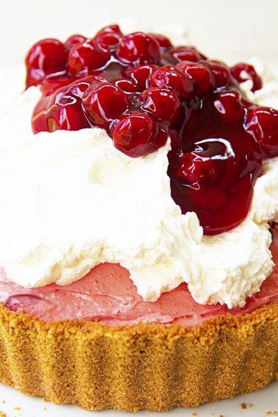 Cherry Cheesecake Jello Pie