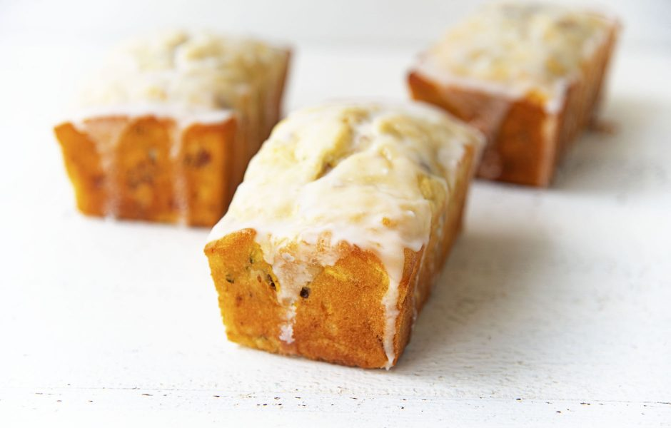 Lemon Summer Squash Quick Bread