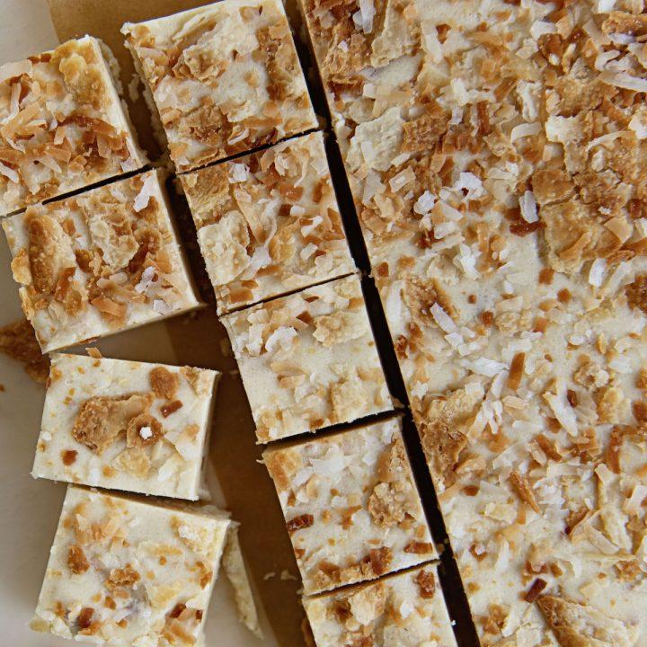 Coconut Cream Pie Fudge