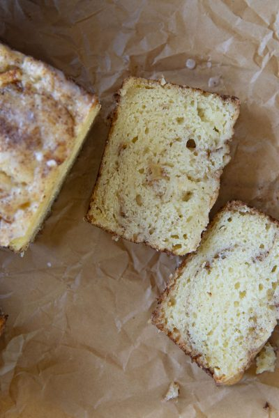 Snickerdoodle Apple Fritter Bread