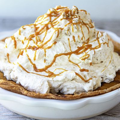 Gingersnap Cream Cheese Pumpkin Pie