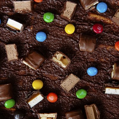 Halloween Candy Cracker Toffee #HalloweenTreatsWeek