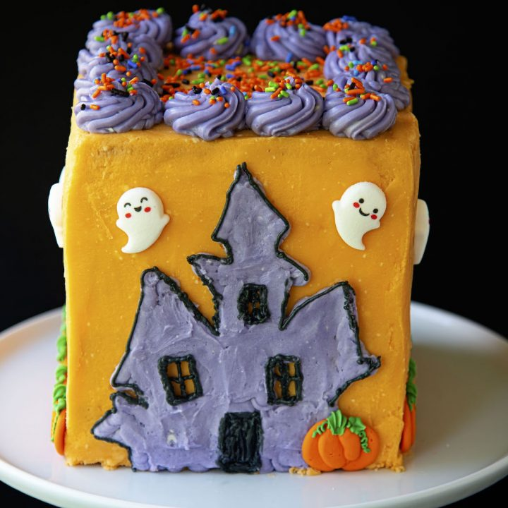 Haunted House Layer Cake